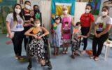 Crianças em tratamento oncológico aprendem sobre a importância da alimentação saudável